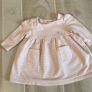 Ralph Lauren Baby Shirt Dress Size 6 Months